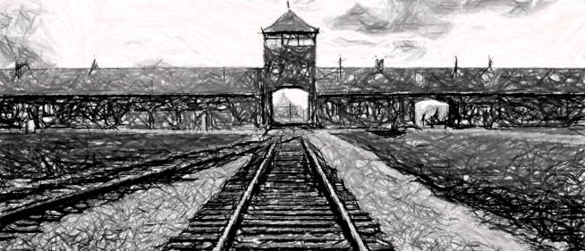 Auschwitz problem of evil